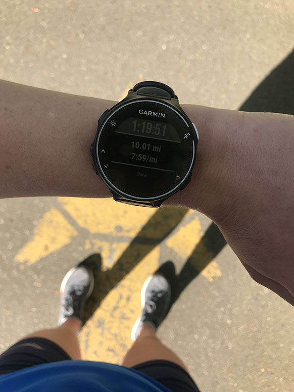 Mile Markers: Tapering Down