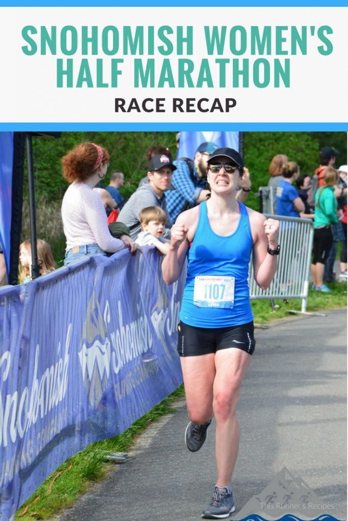 Snohomish Women's Run Half Marathon Race Recap