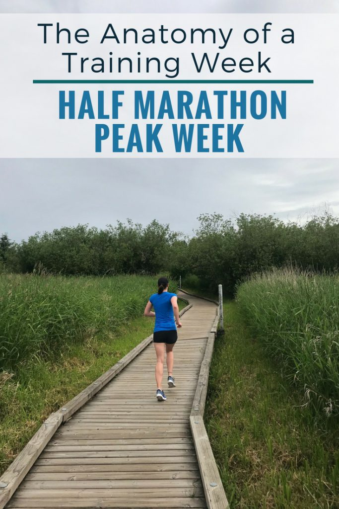 Anatomy of a Training Plan: Half Marathon Peak Week