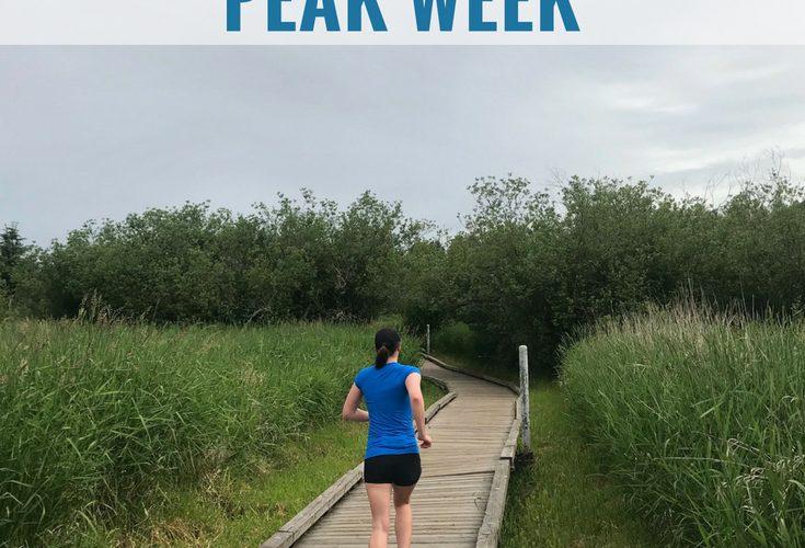 The Anatomy of a Training Plan: Half Marathon Peak Week
