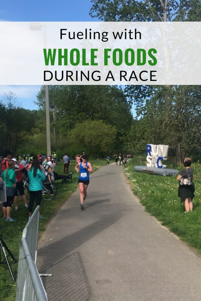 Fueling with Whole Foods during a Race