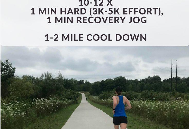 Short Fartlek Interval Run