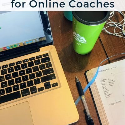 My Top Productivity Tools for Online Coaching