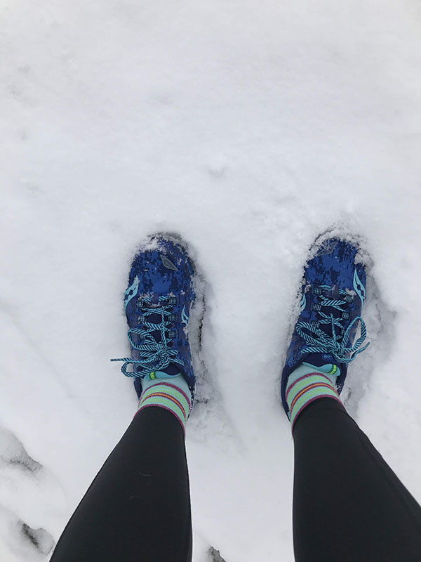 Mile Markers: Snowshoes and Snowstorms