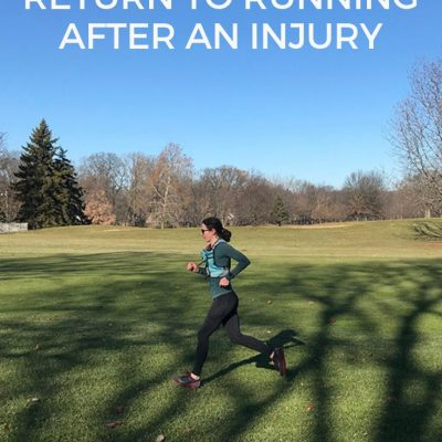 Returning to Running After Injury