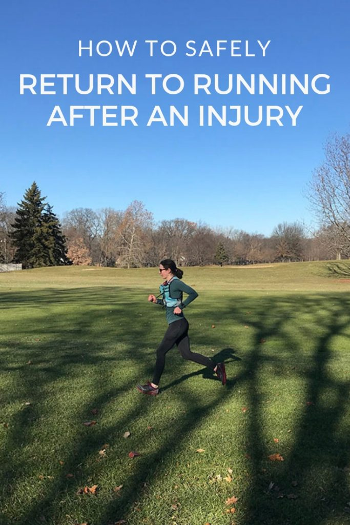 Returning to Running after Injury: Tips and Sample Plans to Build Back Your Running Mileage Safely