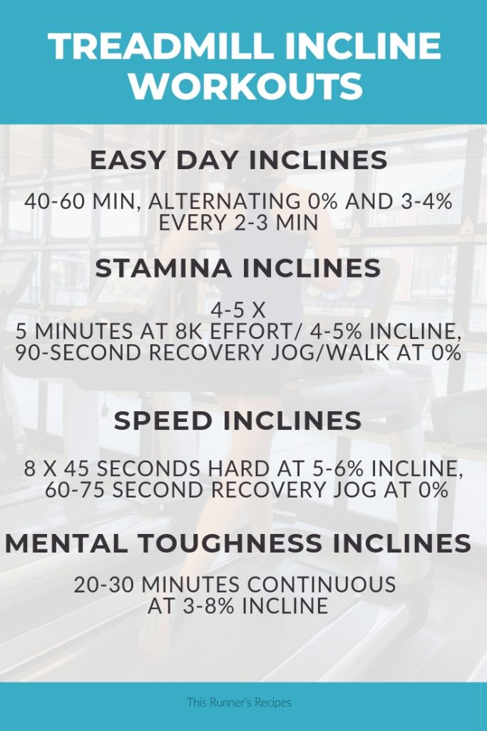 Treadmill Incline Workouts for Runners