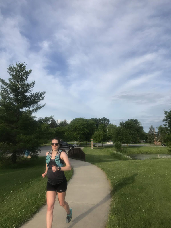 Mile Markers: Eat More, Run Less