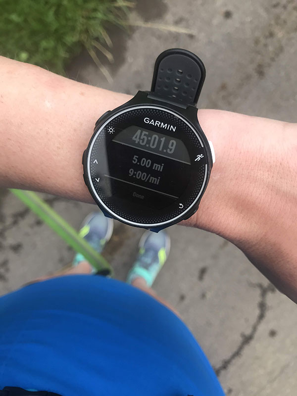 Mile Markers: Summertime Cold
