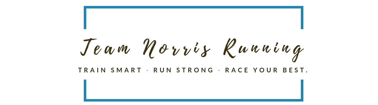 Laura Norris Running logo