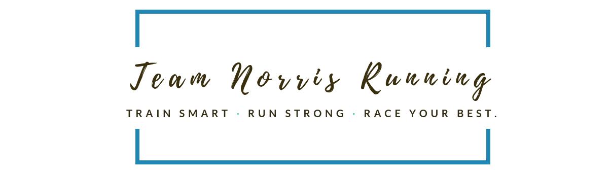 Laura Norris Running logo
