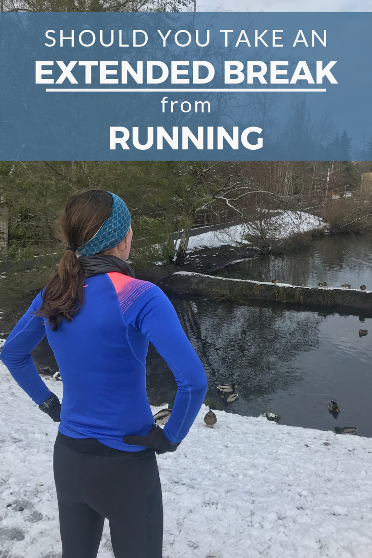 Should You Take a Break from Running?