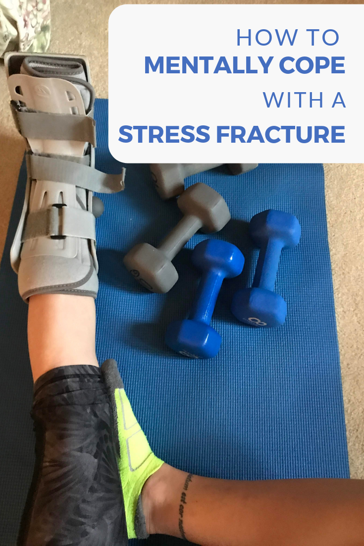 How to Mentally Cope with a Stress Fracture