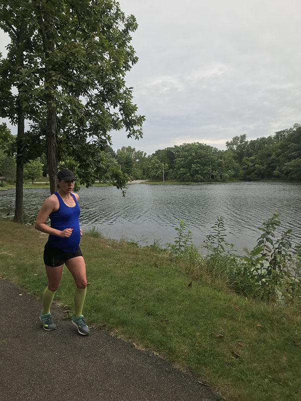 Mile Markers: Running at 37 Weeks