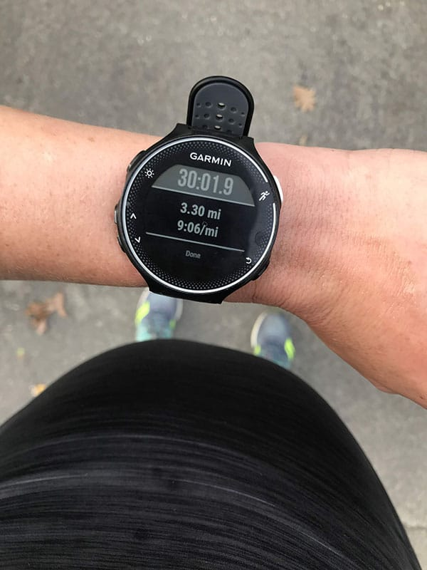 Mile Markers: Run-Walking at 39 Weeks