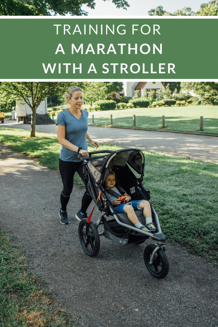 Training for a Marathon with a Stroller