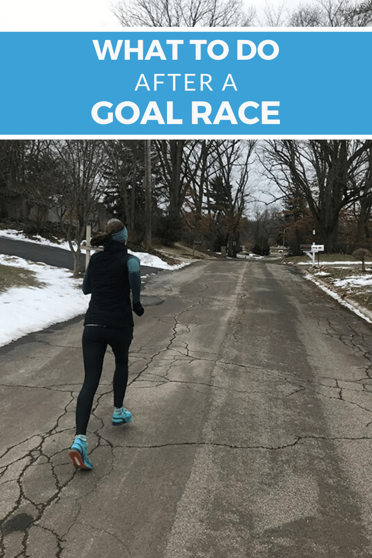What to Do After a Goal Race