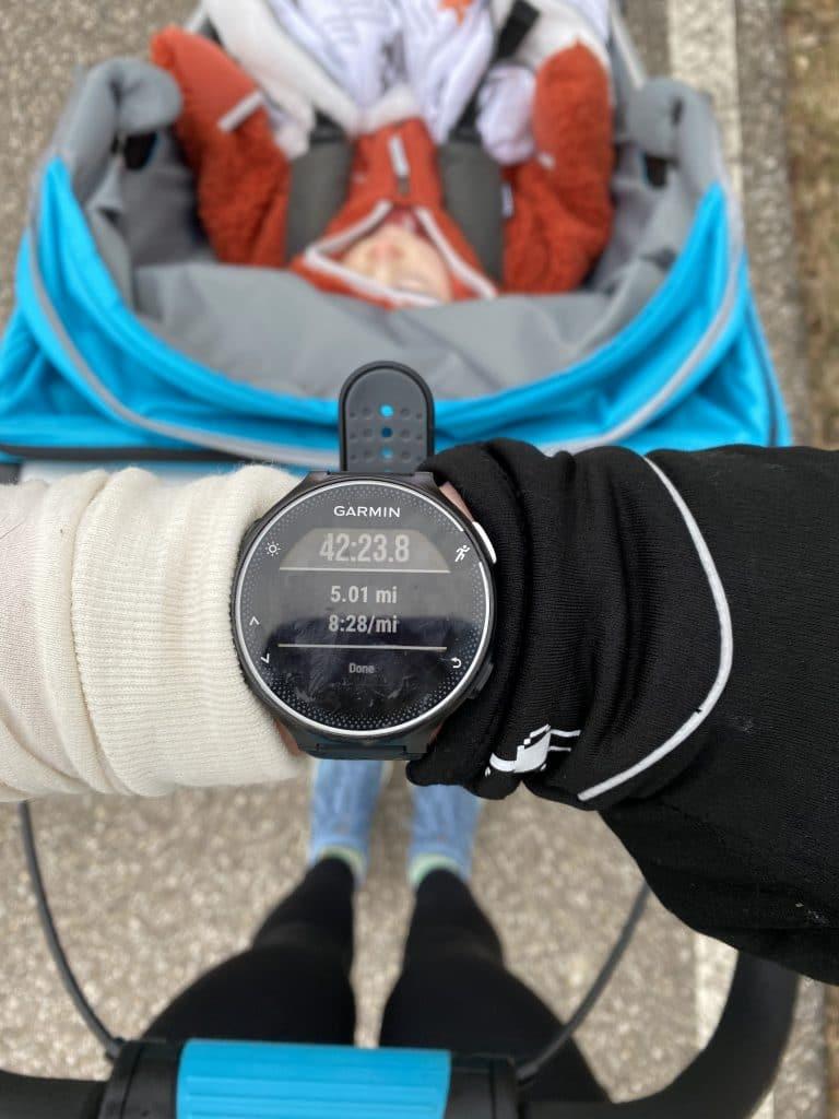 The First Week of Stroller Running