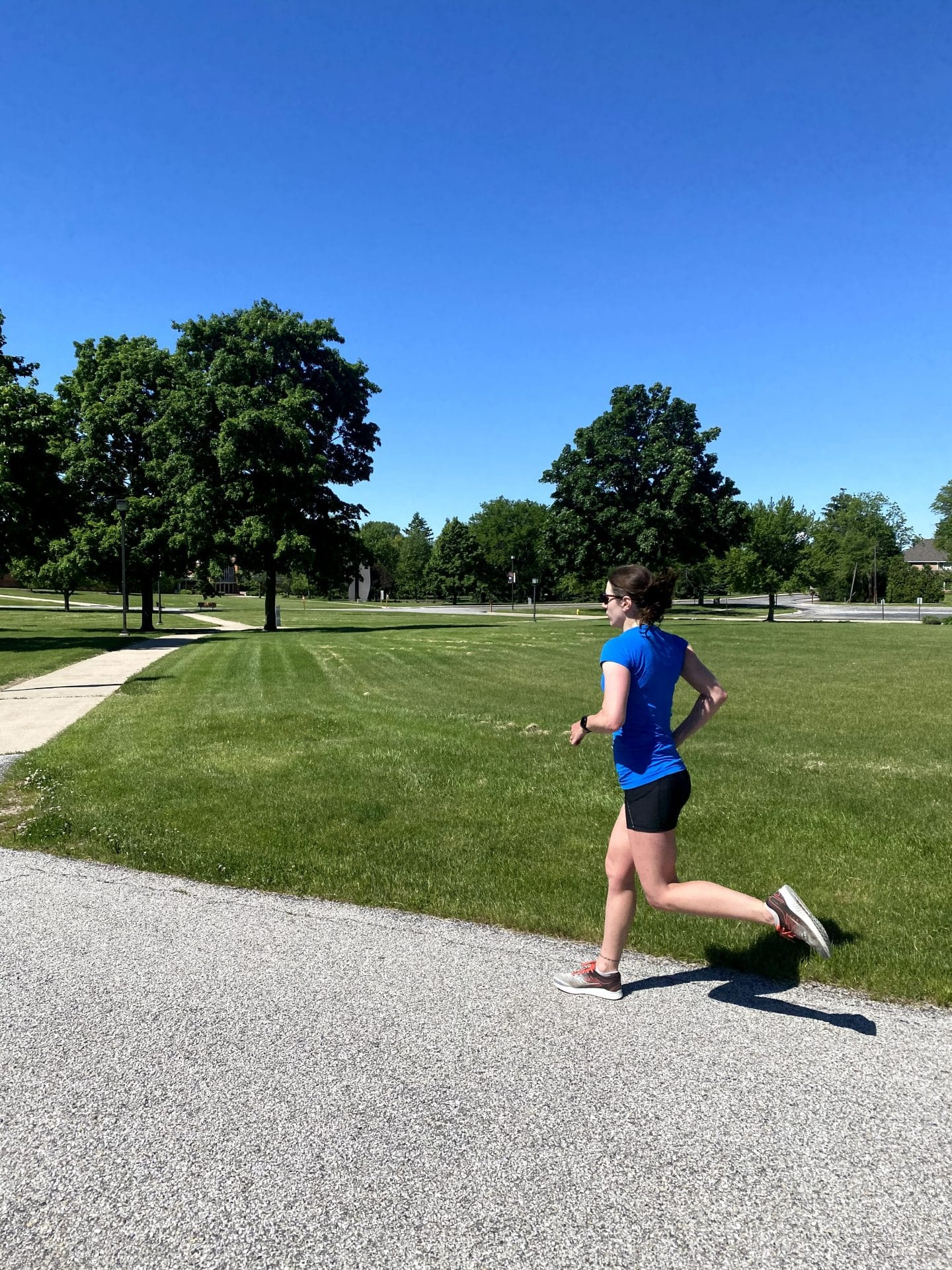 Weekly Workouts: 40 (Humid) Miles