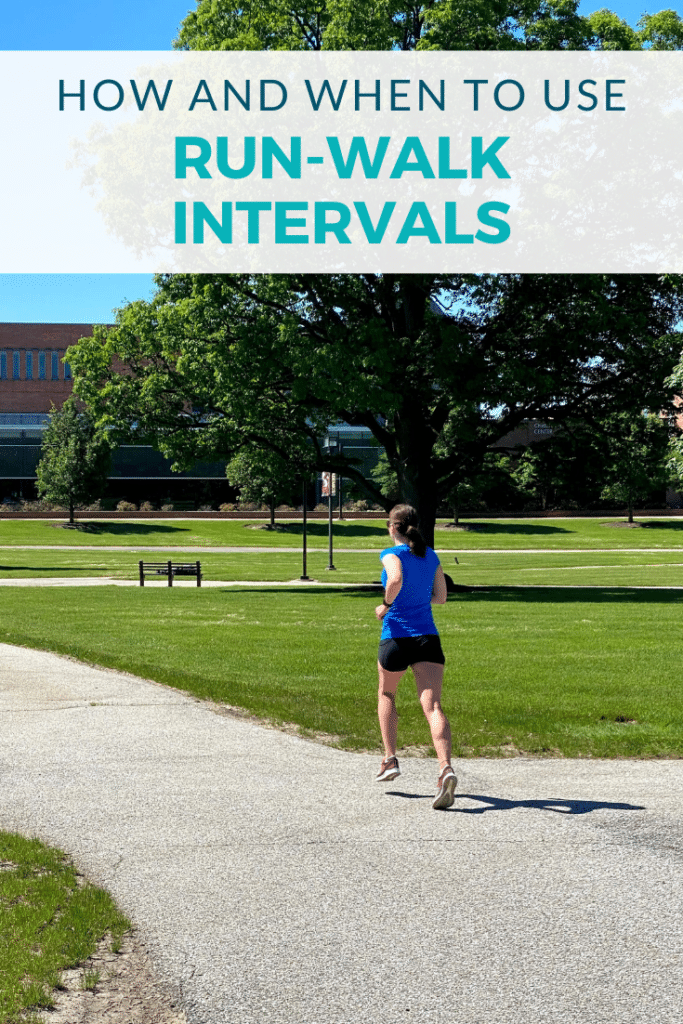 How and When to Use Run-Walk Intervals