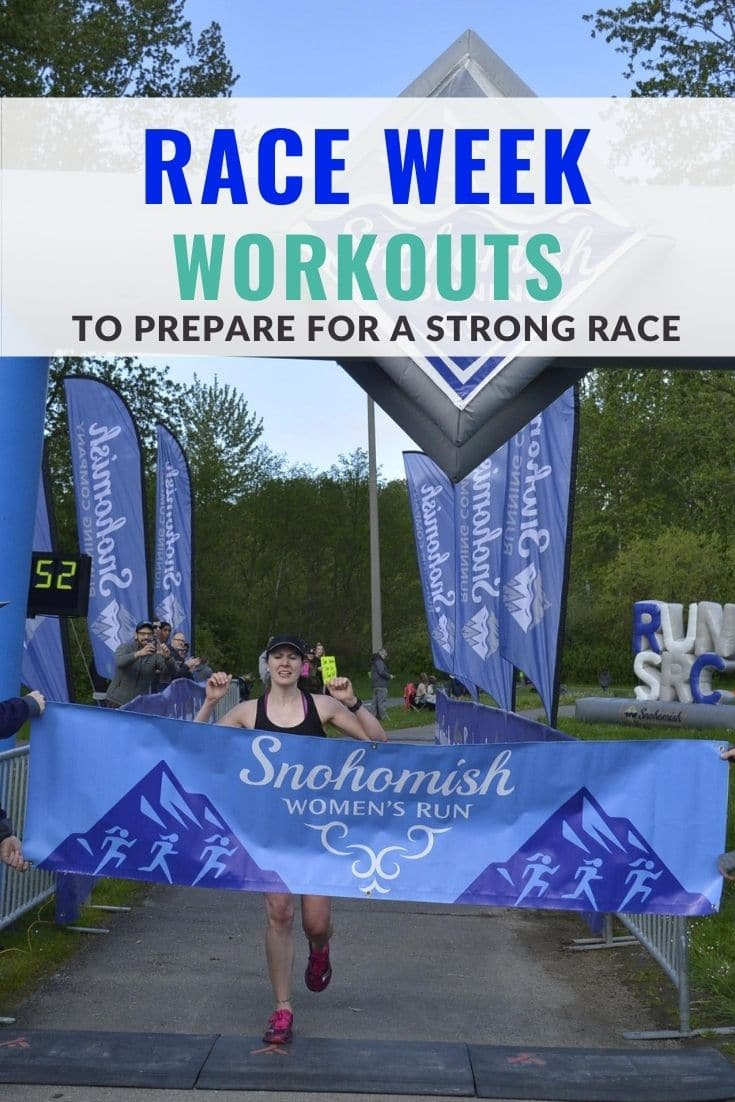 Race Week Workouts